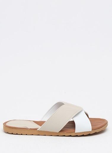 Shoes1441 Terlik Bej